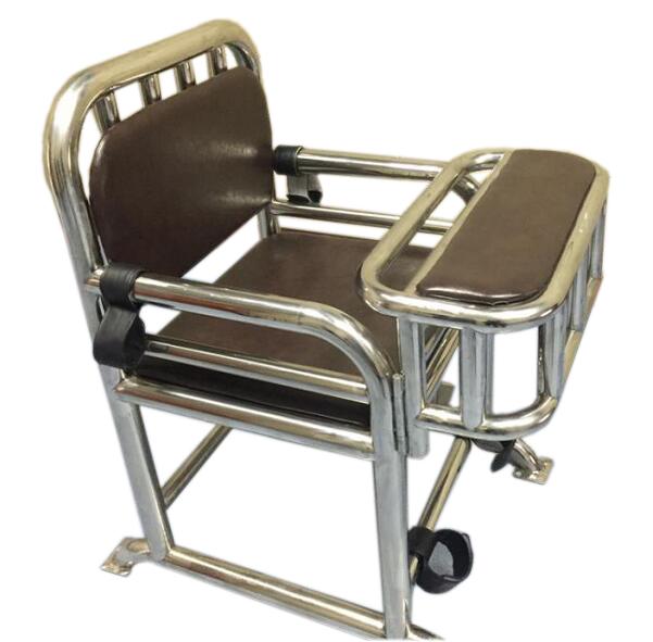 不锈钢审讯椅,醒酒椅